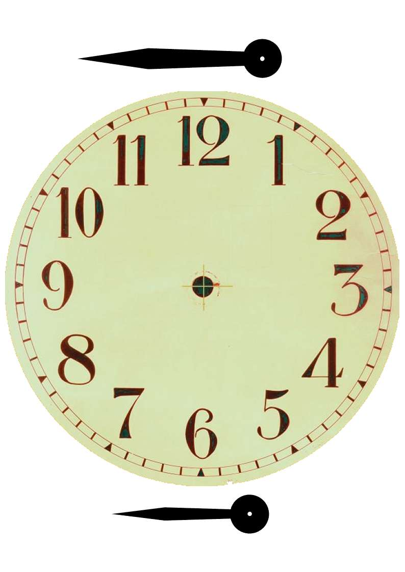 It is a graphic of Shocking Printable Clock Face With Hands
