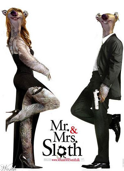 Mr and Mrs Sloth