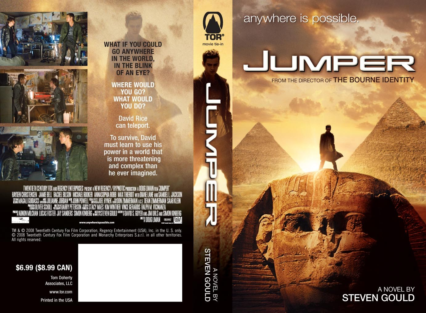 Jumper 2 Confirmed | Jumper Sequel will be a TV series for ...