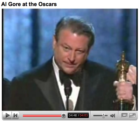 "Al Gore's ""An Inconvenient Truth"" wins an Oscar"