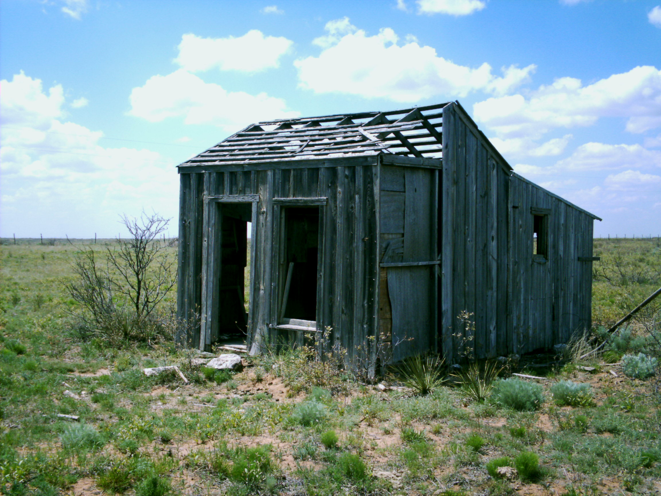 This is the shack that Jack built.