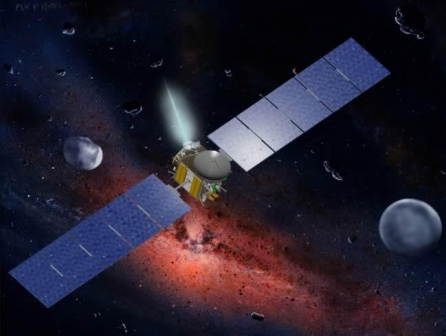 Dawn in Space
