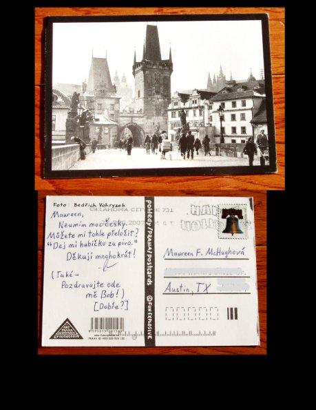 Mysterious Postcard