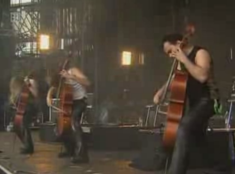 cellos rock